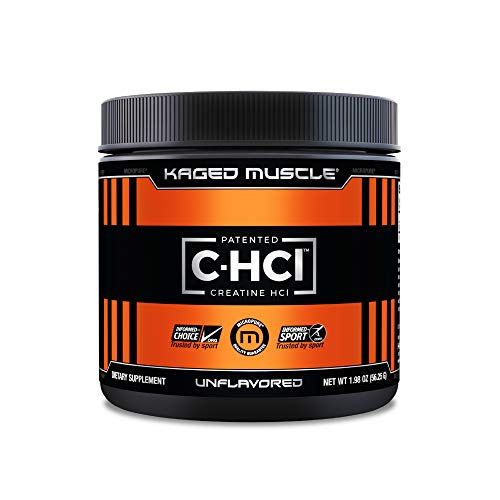 Creatine HCl Powder Kaged Muscle Creatine HCl Patented Creatine Hydrochloride Powder Highly Soluble Creatine Hydrochloride 750mg Unflavored 75 Servings