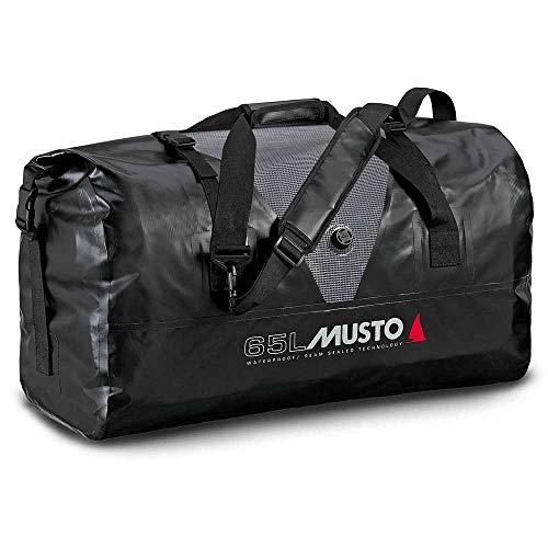 Musto Waterproof Dry Carryall 65L Capacidad de 65 litros - Negro Gris - Unisex