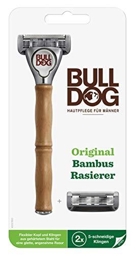 Bulldog Rasierer mit Bambusgriff