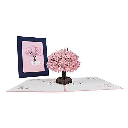 AMDOLE Jinchan 3D BlumengrußKarten, JubiläUm Alles Gute Zum Geburtstag Hochzeiten Valentinstag, Frau, Ehemann, Freundin, Liebhaber, Mutter, Vater
