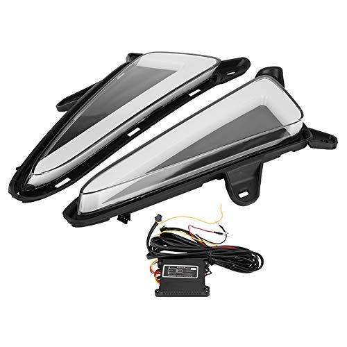 Nikou Tagfahrlicht Auto Tagfahrlicht Blinker Dual Modell DRL LED-Lichter für C-HR 17-18 (1 Paar)