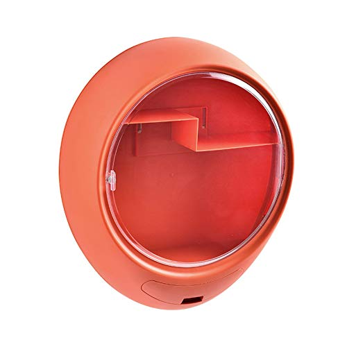 donfhfey827 Kreative Wandkosmetik Aufbewahrungsbox Staubdichte Toilette Toilette Wandfreies Punsch Hautpflege Regal