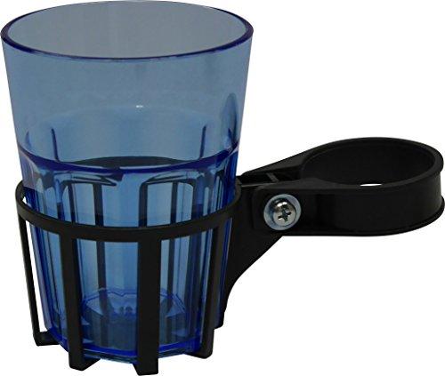 Angerer Getränkehalter für Hollywoodschaukel eisengrau, inkl. Becher blau, 970/04