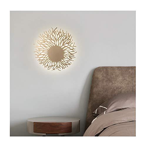 Slaapkamer Led Wandlamp, Eenvoudig Smeedijzer Huiskamer Hotel Wandlamp, Scandinavische Stijl