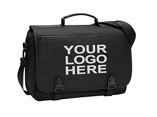 Personalized Customized Messenger Laptop Briefcase for Men & Women - Add Your Embroidered Logo