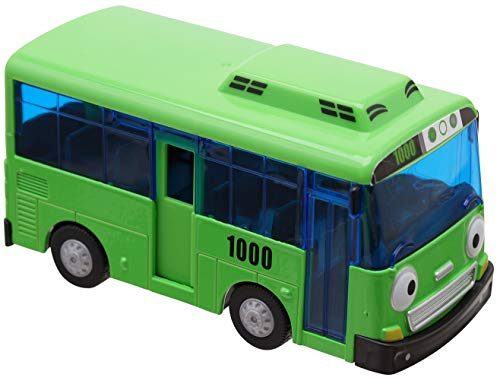 The Little Bus Tayo and freinds - Rogi Metal Die Cast Bus Cars Toy Pull-Back Motor Vehicle Ride car Toys for Kids (Rogi)