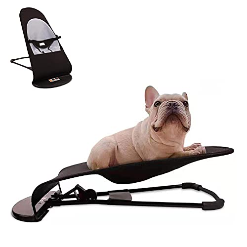 Dog Rocking Chair, Portable Cat Rocking Chair, Summer Pet Dog Bed Cat Sofa Foldable Rocking Chair Pet Cat Rocking Bed