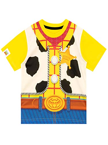 Disney Boys Toy Story Woody T-Shirt Yellow Age 4 to 5 Years