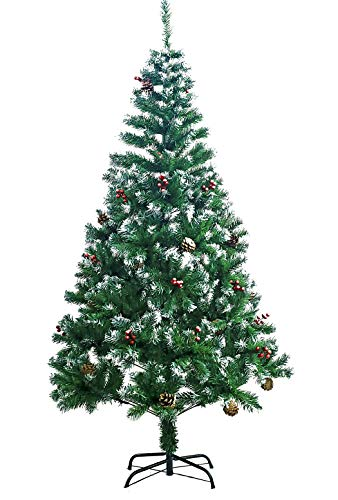 AISHITE クリスマスツリー ヌードツリー 松かさ付き 赤い実付き xmas まるで森の中のクリスマス 120cm 150cm 180cm (120)