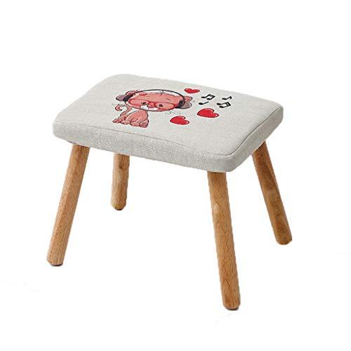PLL Solid Wood Huishoudelijke Thee Tafel Barkruk Persoonlijkheid Volwassen Verander Schoenen Bench Creatieve Cartoon Kleine Bank Eenvoudige Mode Sofa Barkruk