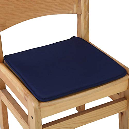 Asiento sólido Mat 38cm * 38.5cm Soft Comfort Lumbar Support Pillow Silla de Oficina Cojín del Asiento Bolster Glúteos Tie On Pad