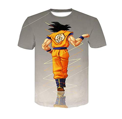 ONLYONE1 T-Shirts Kinder 3D Dragon Ball Wukong Persoonlijkheid afdrukken Korte mouw Anime mannen Plus Size Mode Outdoor T-Shirt