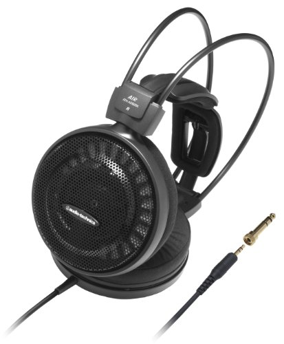 Audio-Technica ATH-AD500X Audiophile Open-Air Headphones, Black (AUD ATHAD500X)