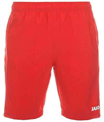 Jako Unisex Shorts Basic 2.0, rot, M