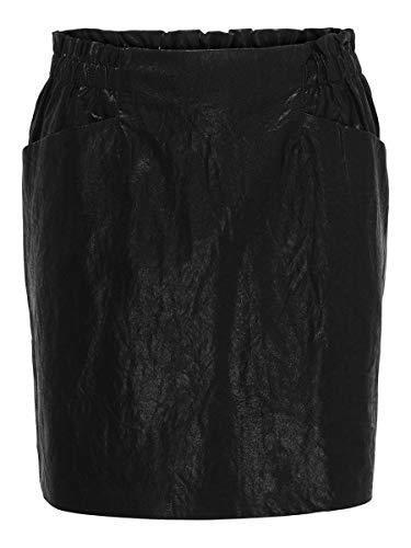 Only Onldarling Faux Leather Skirt CC Otw Falda para Mujer