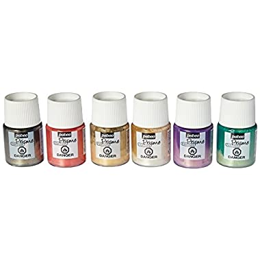 Pebeo Fantasy Prisme, Discovery Set of 6 Assorted 20 ml Bottles