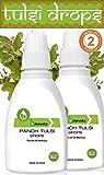 Emeveta Herbal Organic Pure Panch Tulsi Ark Drops (Pack of 2)