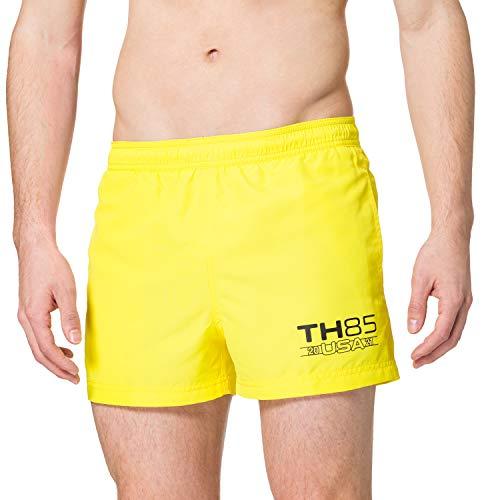 Tommy Hilfiger Short Drawstring Baador, TH Neon Amarillo, XL para Hombre