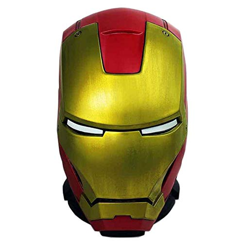 BricoLoco. Hucha Original Friki del Casco de Iron Man (Marvel) Ideal para Regalar.
