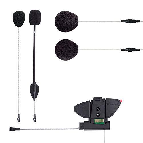 Midland C1252.02 Hi-Fi Audio Kit und Halterung für BT PRO Code schwarz