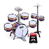 XINRUIBO Tambor para niños Drums Drums Música Juguetes educativos Percusiones Bebés Educación...