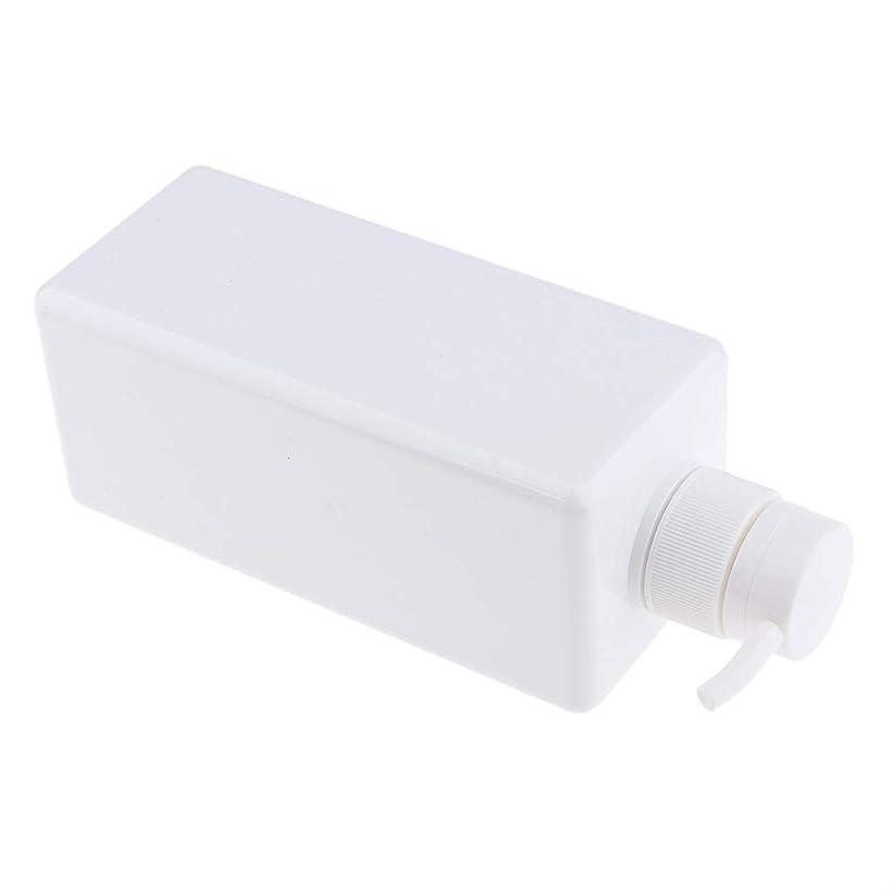 ショートカウントアップやめるB Baosity ソープディスペンサー ローションボトル シャンプーコンテナ 650ml 高品質 プラスチック 4色選べ - 白