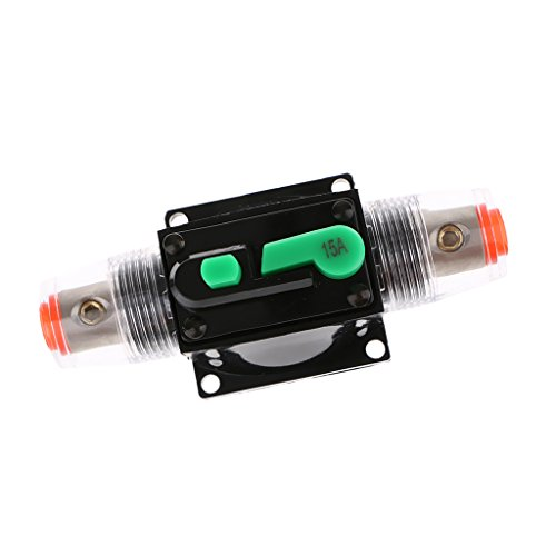Baoblaze Disjoncteur Fusible Audio Stéréo 12V 24V 32V Accessoire D'auto - 15A