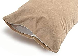 Uppercut 100% Cotton Water Resistant Pillow Protector - Set of 2, Beige