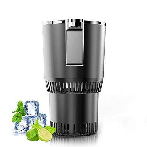 Home & Car Cup Cooler Warmer Quick Electric Cooling Cup -3℃~58℃ Heat and Cold Insulation Drink Cooler Cup Coffee Warmer for Office/ Road Trip