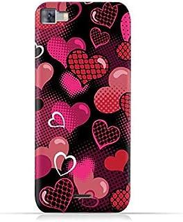 Infinix Zero 3 X552 TPU Silicone Protective Case with Valentine Hearts Seamless Pattern Design
