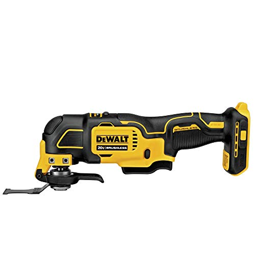 Dewalt DCS354BR ATOMIC 20V MAX Brushless Lithium-Ion Cordless Oscillating Multi-Tool (Tool Only) (Renewed)