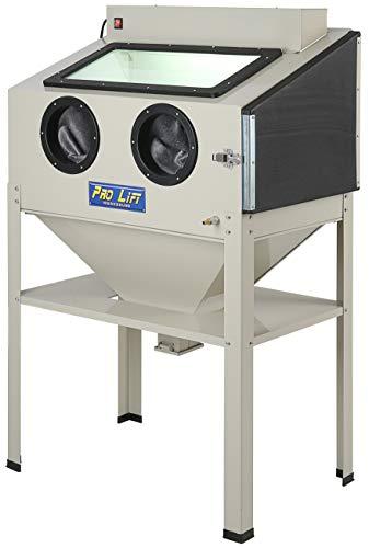 Pro-Lift-Werkzeuge Sandstrahlgerät 220 l Sandstrahlkabine Sandstrahler 220 Liter Zubehör sand blaster Industrie Beleuchtung