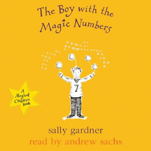 The Boy with the Magic Numbers audiobook cover art