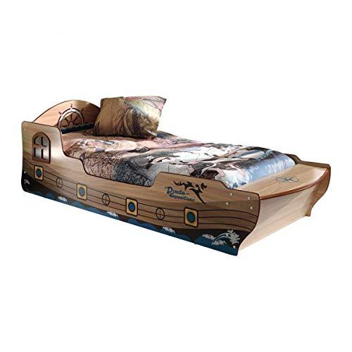 Vipack Piratenbett Spielbett Kinderbett, 90 x 200 cm