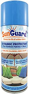 SUNGUARD Fabric UV Protectant and Sealant Spray for Outdoor Garden and Home Decor Prevents Fading Spills & Stains