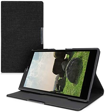 kwmobile Case Compatible with Sony Xperia Tablet Z3 Compact Slim Book Style Tablet Cover with product image