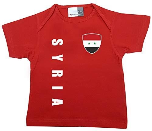 aprom Syrien Baby T-Shirt - Trikot - WM EM No.1 R SY (56/62)