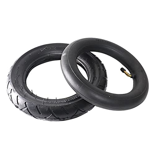 neumático 10x2.125 Scooter eléctrico balanceo de hoverboard auto-inteligente balanceo neumático Espesar neumáticos blandos ecológicos (Color : Inner outer tire)