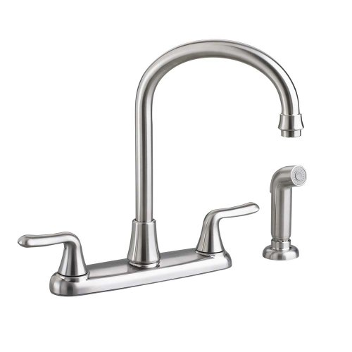 American Standard 4275551F15.075 Colony Soft 2-Handle High-Arc Kitchen Faucet with 1.5 gpm Aerator...