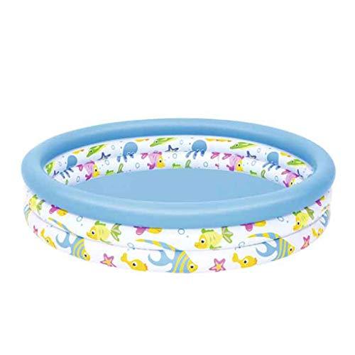 HEG Piscina Inflable for niños Ducha for bebés Piscina de Bolas Marinas casa Piscina Grande Parque acuático Piscina de Juguetes for bebés Piscinas hinchables (Size : 122 * 25cm)