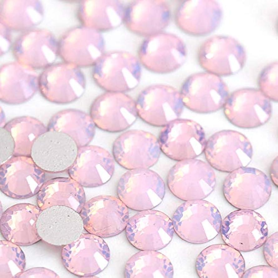 初期の面海【ラインストーン77】 ガラス製ラインストーン ピンクオパール(SS30:約6.3mm/約45粒)