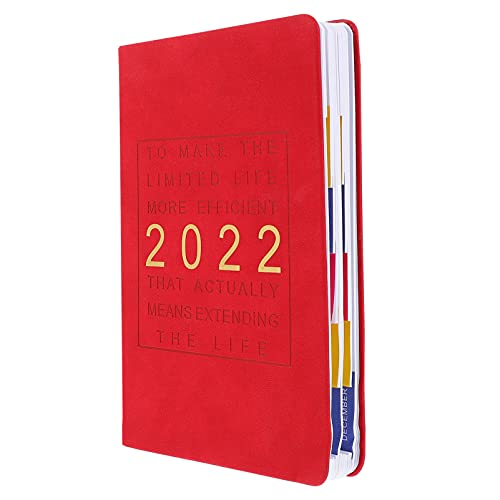 NUOBESTY 2022 Mensile Planner 2022 Tutti I Giorni Planner Settimanale Passione Schede Planner con Mensile 2020 Tutti I Giorni di Pianificazione Notepad Gestione Del Tempo Blocchetto Per