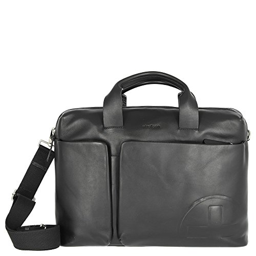 Strellson Jones BriefBag MHZ Herren Leder Aktentasche