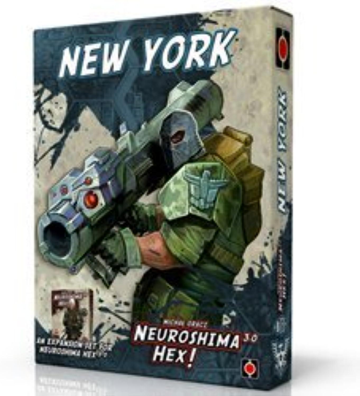 Neuroshima Hex 3.0 New York Board Game by Portal Games