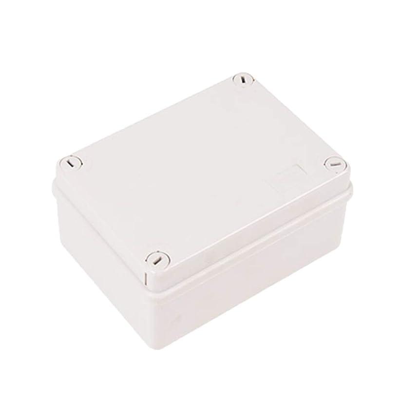 取るに足らない秘書ヘアperfk 防水IP55電子ABSプラスチックジャンクションプロジェクトボックスエンクロージャ150mm X 110mm X 70mm(グレー)