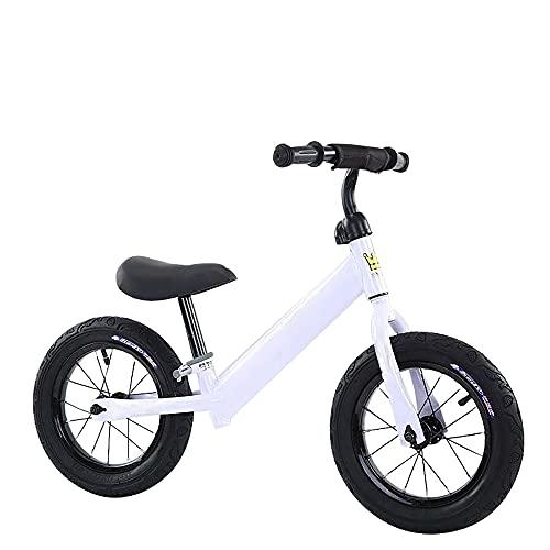 LRBBH Scooter de Equilibrio para NiñOs de 12 Pulgadas, Scooter de Bicicleta para NiñOs, Bicicleta sin Pedal, Scooter para BebéS, Juguetes Deportivos Al Aire Libre para NiñOs de 2 a 6 añOs /