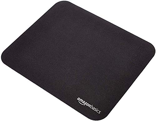 AmazonBasics SBD85WD Mini Gaming Mouse Pad, Black