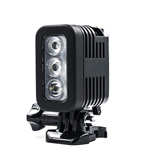 QYRL Kamera Blitz Wasserdicht Sport Kamera Licht Mit Lithium Batterie Für Gopro Kameras 30M Tauchen Blitzlicht