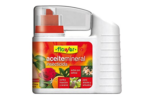 Flower Aceite Mineral INSECTICIDA 500ML, Único