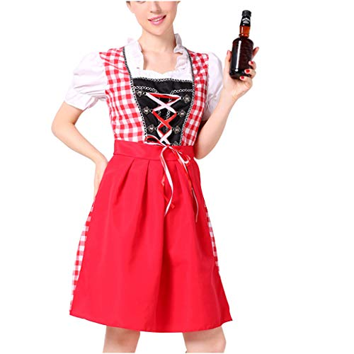 LSAltd Frauen Bier Festival Vintage Maidservant Kleid Sexy Dessous Kleid Bier Festival Cosplay Kostüme